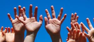 детски ръце